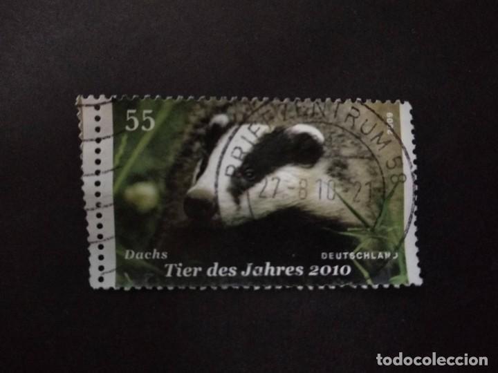 ALEMANIA FEDERAL 2009. EUROPEAN BADGER (MELES MELES). YT:DE 2590, (Sellos - Extranjero - Europa - Alemania)
