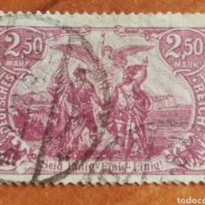 Sellos: ALEMANIA IMPERIO AÑO 1920 USADO (FOTOGRAFÍA REAL). Lote 221580495