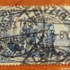 Sellos: ALEMANIA IMPERIO, AÑO 1920 USADO (FOTOGRAFÍA REAL). Lote 221581400