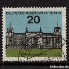 Sellos: BERLIN 213 - AÑO 1964 - ARQUITECTURA - EL NUEVO REICHSTAG. Lote 221582893