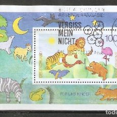 Sellos: ALEMANIA FEDERAL.1995. HB. YT 33. Lote 221667350