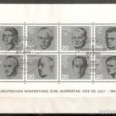 Sellos: ALEMANIA FEDERAL.1964. HB. YT 2. CAT 22€. Lote 221668097