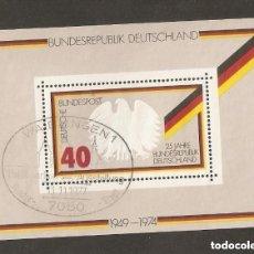 Sellos: ALEMANIA FEDERAL - 1974 . YT 9. Lote 221668748