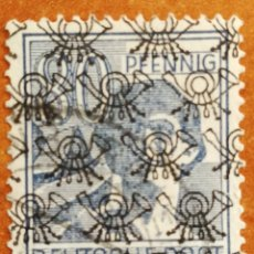 Sellos: ALEMANIA BIZONA 1948 USADO (FOTOGRAFÍA REAL). Lote 221669703