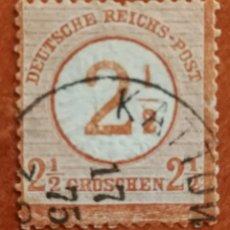 Sellos: ALEMANIA IMPERIO, CORREO 1874 USADO (FOTOGRAFÍA REAL). Lote 221681666