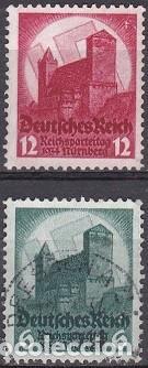 LOTE DE SELLOS - ALEMANIA III REICH - ESVASTICA NAZI - WWII (AHORRA EN PORTES, COMPRA MAS) (Sellos - Extranjero - Europa - Alemania)