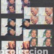 Sellos: ALEMANIA FEDERAL SELLOS AÑO 2000 ** MICHEL 2143 A 2147 YVERT 1976 A 1980 EN BLOQUE DE 4. Lote 221930773