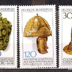 Sellos: ALEMANIA FEDERAL /1977/MNH/SC#1258-60/ HERENCIA ARQUEOLOGICA. Lote 222234367