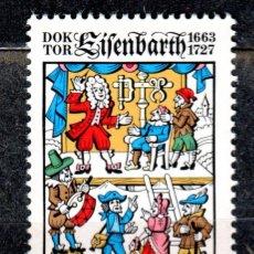 Sellos: ALEMANIA FEDERAL /1977/MNH/SC#1264/ JOHAN ANDREAS EISENBARTH / PERSONAJES HISTORICOS. Lote 222235398