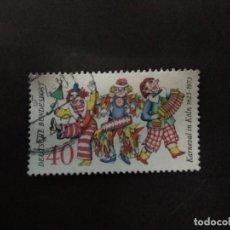 Sellos: ALEMANIA FEDERAL 1972. 150TH ANNIV. OF COLOGNE CARNIVAL. YT:DE 599,. Lote 222392888