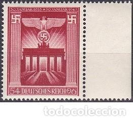 LOTE DE SELLOS - ALEMANIA - III REICH - WWII - NAZI ESVASTICA HITLER (AHORRA EN PORTES, COMPRA MAS) (Sellos - Extranjero - Europa - Alemania)
