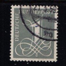 Sellos: ALEMANIA 102 - AÑO 1955 - CIFRAS. Lote 222568657