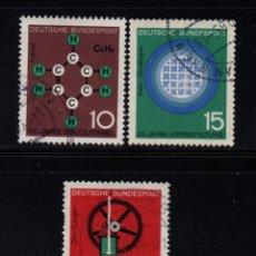 Sellos: ALEMANIA 310/12 - AÑO 1964 - CIENCIA Y TÉCNICA. Lote 222568943