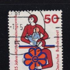 Sellos: ALEMANIA 680 - AÑO 1975 - 25º ANIVERSARIO DE LA CREACION DE LA OBRA DE AYUDA A LAS MADRES. Lote 222569195