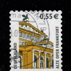 Sellos: ALEMANIA 2131 - AÑO 2002 - OPERA DE FRANCFORT. Lote 222570012
