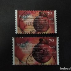 Sellos: ALEMANIA FEDERAL 2016. BAUBLE AND GREETING. YT:DE 3064, YT:DE 3064A. Lote 222601515
