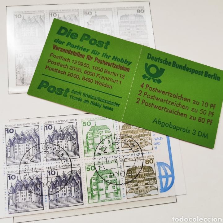 Sellos: Alemania. 1982. Berlín. Serie básica doble, castillos - Foto 2 - 222662730