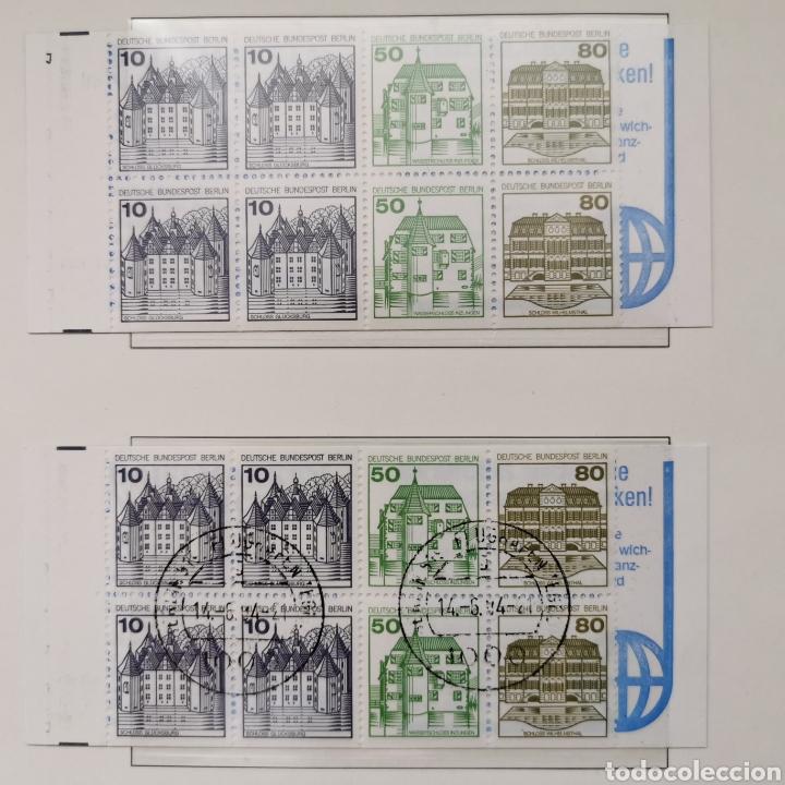 ALEMANIA. 1982. BERLÍN. SERIE BÁSICA DOBLE, CASTILLOS (Sellos - Extranjero - Europa - Alemania)