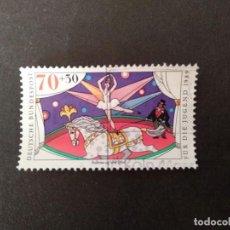 Sellos: ALEMANIA 1989. YOUTH: CIRCUS. YT:DE 1244,. Lote 222666317