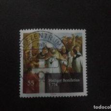 Sellos: ALEMANIA FEDERAL 2004. 350TH ANNIV. OF MARTYDOM OF ST. BONIFACE. YT:DE 2225,. Lote 222706856