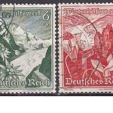 Sellos: LOTE DE SELLOS - ALEMANIA - III REICH - NAZI - WWII - PAISAJES (AHORRA EN PORTES, COMPRA MAS). Lote 222839896