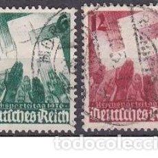 Sellos: LOTE DE SELLOS - ALEMANIA - III REICH - NAZI - WWII - ESVASTICA (AHORRA EN PORTES, COMPRA MAS). Lote 222840168
