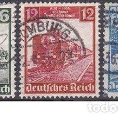 Sellos: LOTE DE SELLOS - ALEMANIA - III REICH - NAZI WWII TRENES FERRROCARRIL (AHORRA EN PORTES, COMPRA MAS). Lote 222840331