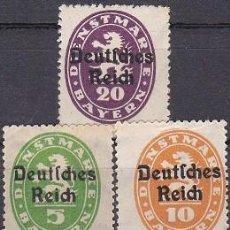 Sellos: LOTE DE SELLOS NUEVOS - ALEMANIA - III REICH - NAZI WWII (AHORRA EN PORTES, COMPRA MAS). Lote 222840460