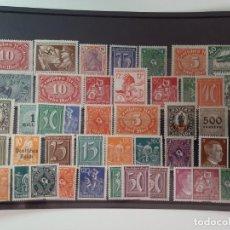 Sellos: LOTE SELLOS ALEMANIA APARTIR DE 1919 EN ADELANTE LOS DE LA FOTO. Lote 222906386