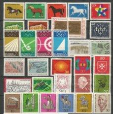 Sellos: SELLOS DE ALEMANIA AÑO 1969 COMPLETO NUEVO. CATÁLOGO YVERT. Lote 269173173