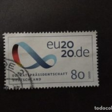 Sellos: ALEMANIA 2020. GERMANY PRESIDENCY OF THE EUROPEAN UNION 2020. YT:DE 3329. Lote 225943215