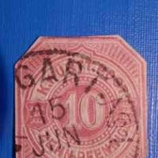 Sellos: ANTIGUO RARO SELLO - K. WÜRTT POST 10 ZHEN PFENNING - ALEMÁN, PRUSIA 1875, WÜRTTEMBERG. Lote 227269700