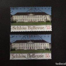 Francobolli: ALEMANIA FEDERAL AÑO 2007. BELLEVUE CASTLE, BERLIN. Lote 227938760