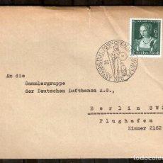 Sellos: ALEMANIA IMPERIO. 1939. SOBRE. MI 700. MATASELLOS ESPECIAL. DÍA DEL ARTE ALEMÁN,. Lote 228423315
