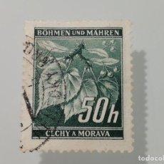 Sellos: LOTE DE 3 SELLOS USADOS DE BOHEMIA Y MORAVIA DE 1939- YVERT 34,43 Y 48- VARIOS VALORES. Lote 229742665
