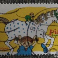 Sellos: ALEMANIA FEDERAL 2019. PIPPI LONGSTOCKING. YT:DE 3285,. Lote 230935355