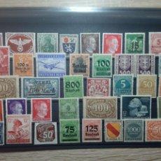 Francobolli: LOTE SELLOS ALEMANIA NAZI LOS DE LA FOTO. Lote 233256260