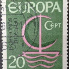 Selos: SELLO ALEMANIA FEDERAL AÑO 1966 -. Lote 257394300