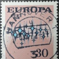 Selos: SELLO ALEMANIA FEDERAL AÑO 1972 --. Lote 257402415