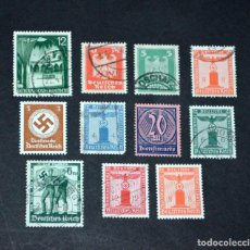 Sellos: LOTE SELLOS ALEMANES. NAZISMO. DEUTSCHE REICH.. Lote 235025735