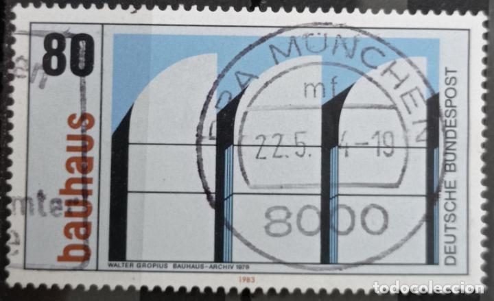 SELLO ALEMANIA FEDERAL AÑO 1982 - (Sellos - Extranjero - Europa - Alemania)