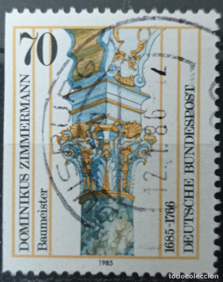 SELLO ALEMANIA FEDERAL AÑO 1985 - (Sellos - Extranjero - Europa - Alemania)