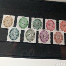 Sellos: ALEMANIA IMPERIO SERIE COMPLETA YVERT 77/85 DEL AÑO 1927 NUEVO**. Lote 235979035