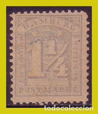 ALEMANIA HAMBURGO 1964 IVERT Nº 9 (*) (Sellos - Extranjero - Europa - Alemania)
