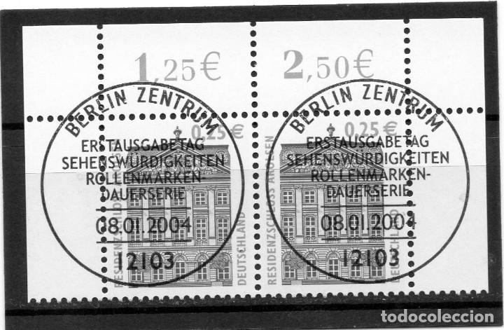 ALEMANIA / GERMANY / SELLO AÑO 2003 USADO MATASELLO PRIMER DIA - BERLIN (Sellos - Extranjero - Europa - Alemania)