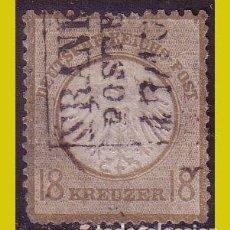 Sellos: ALEMANIA, 1872, IVERT Nº 11 (O). Lote 236627945