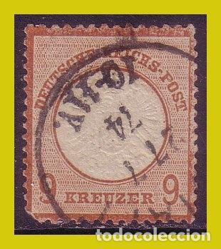 ALEMANIA, 1872, IVERT Nº 10(O) (Sellos - Extranjero - Europa - Alemania)