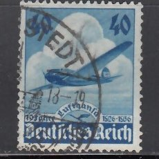 Sellos: ALEMANIA IMPERIO, AÉREOS, 1936 YVERT Nº 54. Lote 236635345