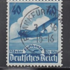 Sellos: ALEMANIA IMPERIO, AÉREOS, 1936 YVERT Nº 54. Lote 236635415