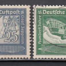 Sellos: ALEMANIA IMPERIO, AÉREOS, 1938 YVERT Nº 57 / 58. Lote 236635965